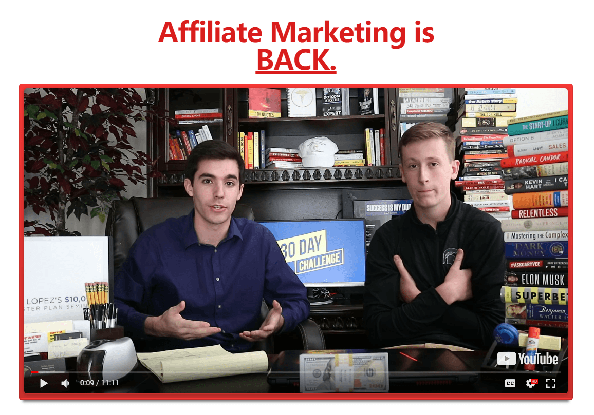 affiliate marketing mastery class 30 day challenge training to 10000 month(30 day affiliate marketing challenge training) - Affiliate Marketing Mastery Class 30-Day Challenge Training to $10,000 / Month!(30-Day Affiliate Marketing Challenge Training)